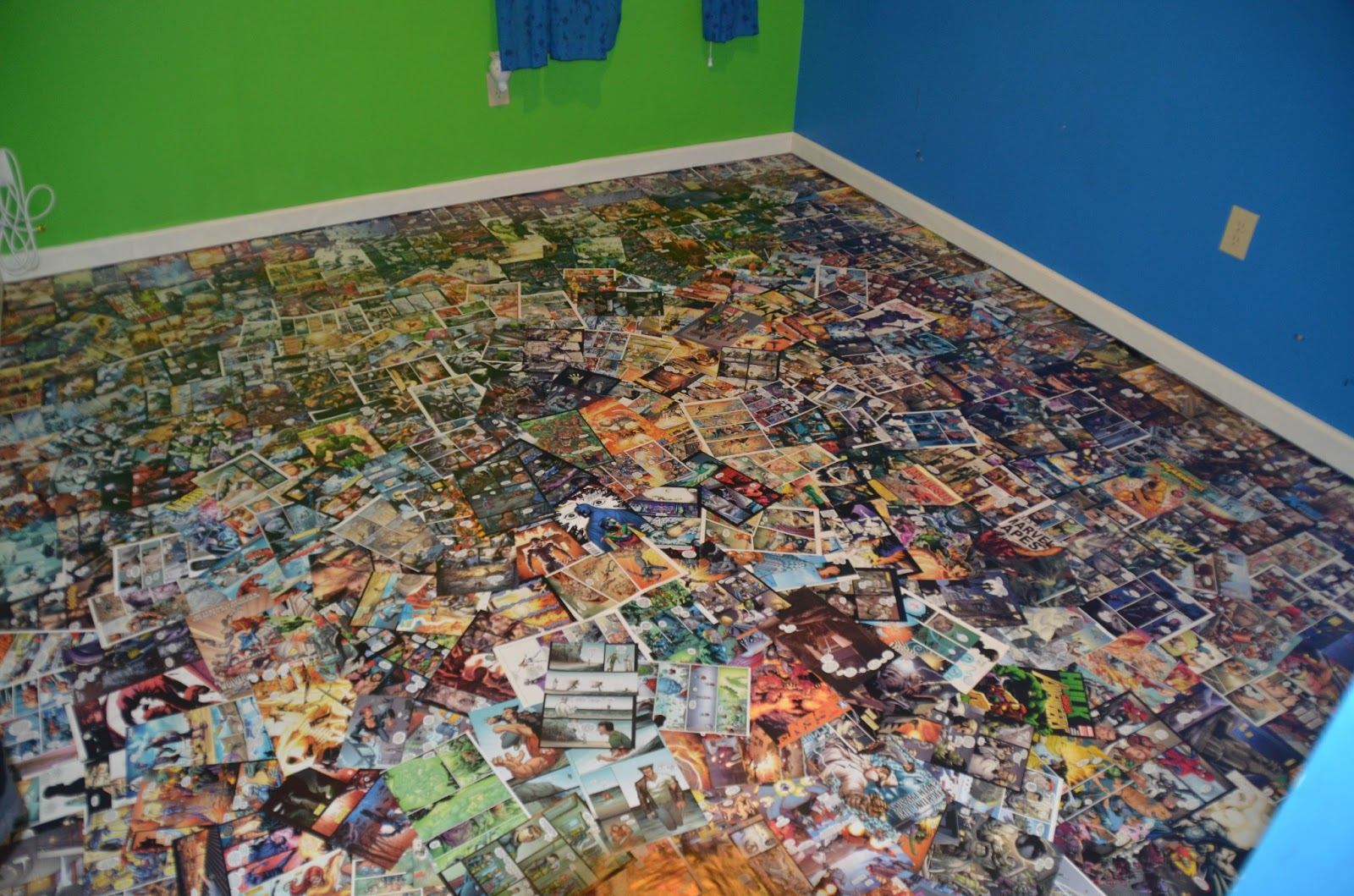 Chaos of Six: Comic Book Floor - My take on the Brown ...