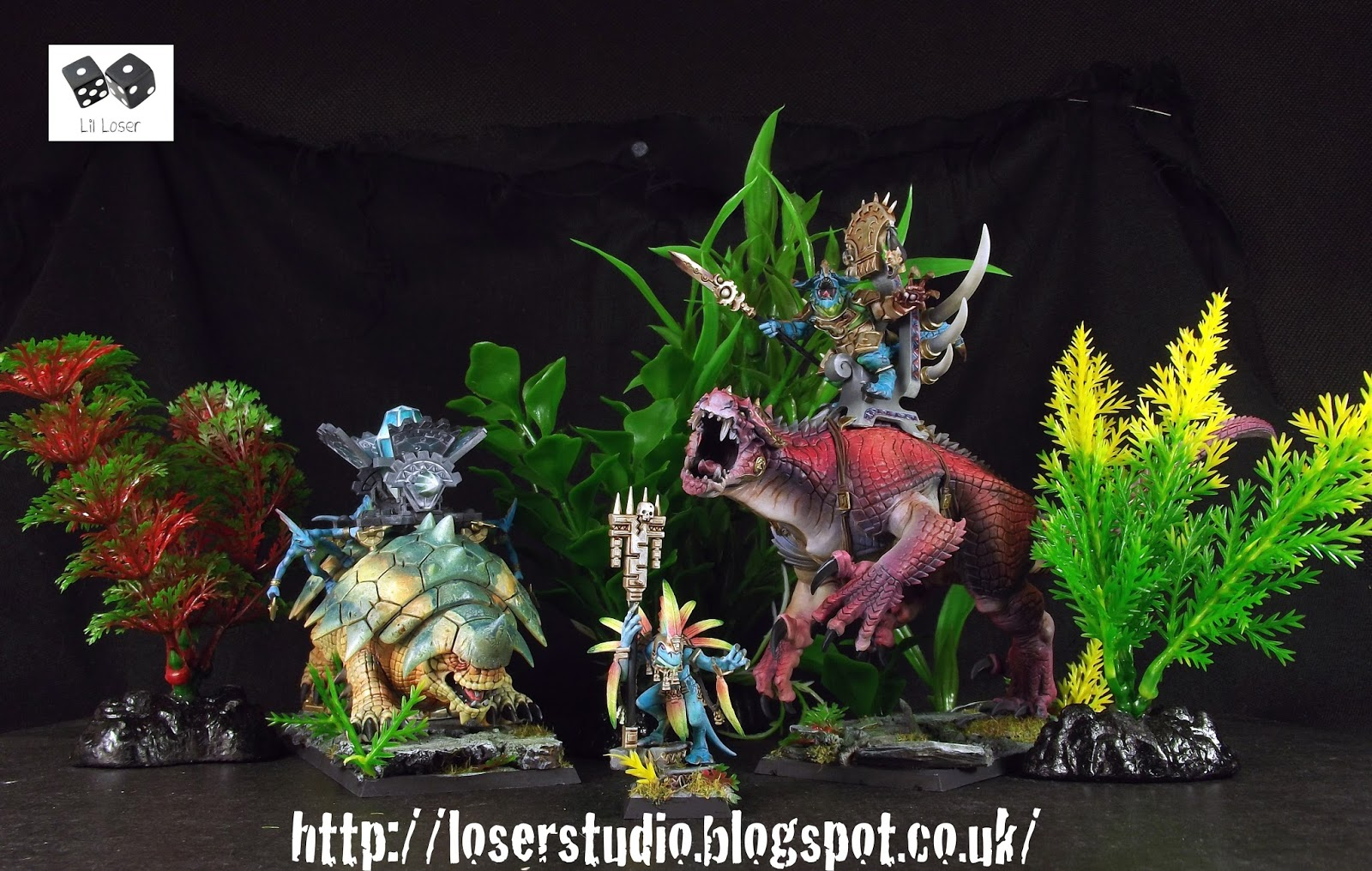 Welcome to the Jungle  New Lizardmen Bastiladon, Carnosaur