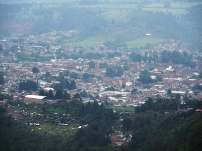 Vista Panorámica de Pátzcuaro desde el Cerro del Estribo Grande