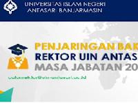 Penjaringan Bakal Calon Rektor UIN Antasari Banjarmasin