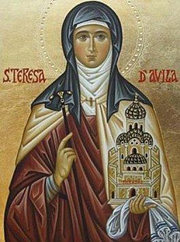 Prières catholiques: Je suis vôtre de Sainte Thérèse d'Avila