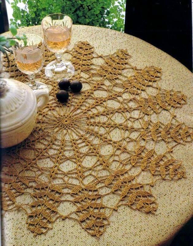 Ergahandmade Crochet Doily Diagram Free Pattern