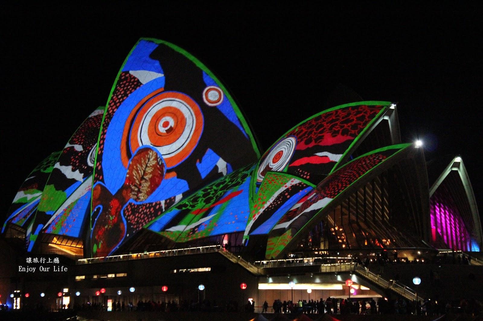 讓旅行上癮: 【澳洲雪梨燈光藝術節】一年一度的南半球最美夜景