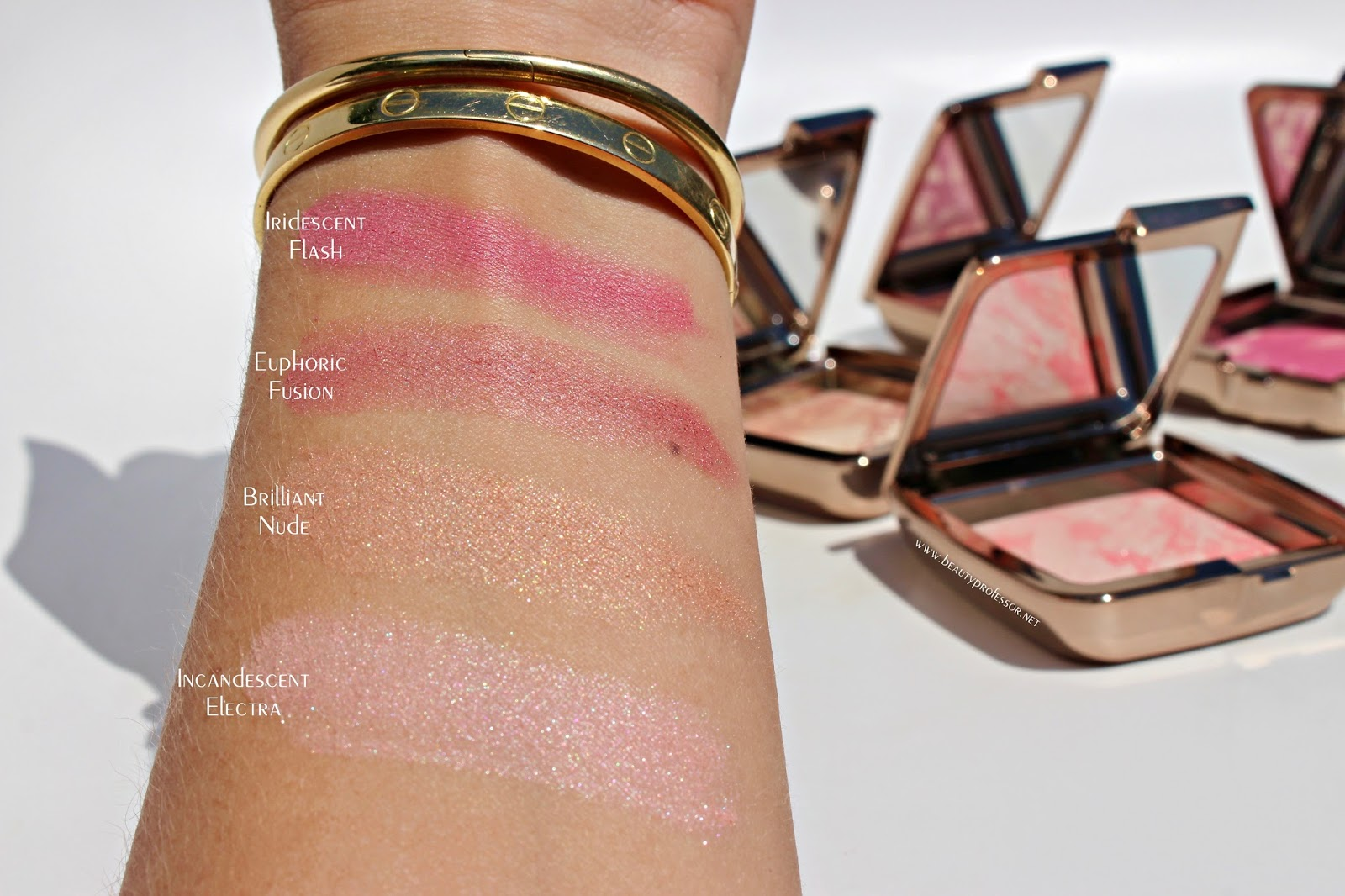 Grandelash Hourglass And Foundation Oh My Major Newness At Lock It Cushion Lip Pen 10 Nudi Beige Heavy Swatches In Direct Sunlight