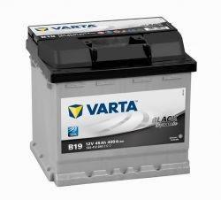 varta black dinamik serisi oto aküsü fiyatları 12 volt 45 amper