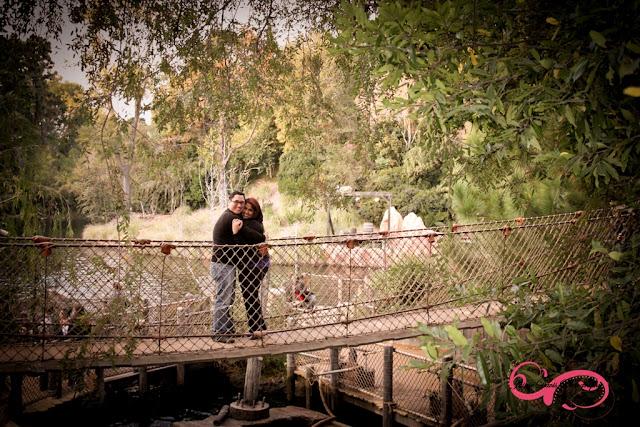 Disneyland Engagement Shoot - Tom Sawyer's Island