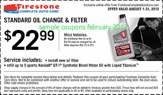 Firestone coupons for february 2017