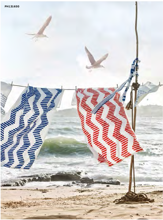 10 decor tips and 30 new items from ikea summer 2016 for Ikea beach towels