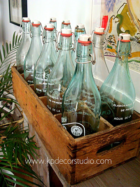 botellas limonada vintage decorar boda