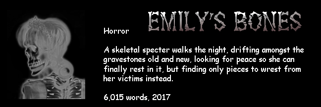 Banner Link for Gori Suture's horror short story Emily's Bones