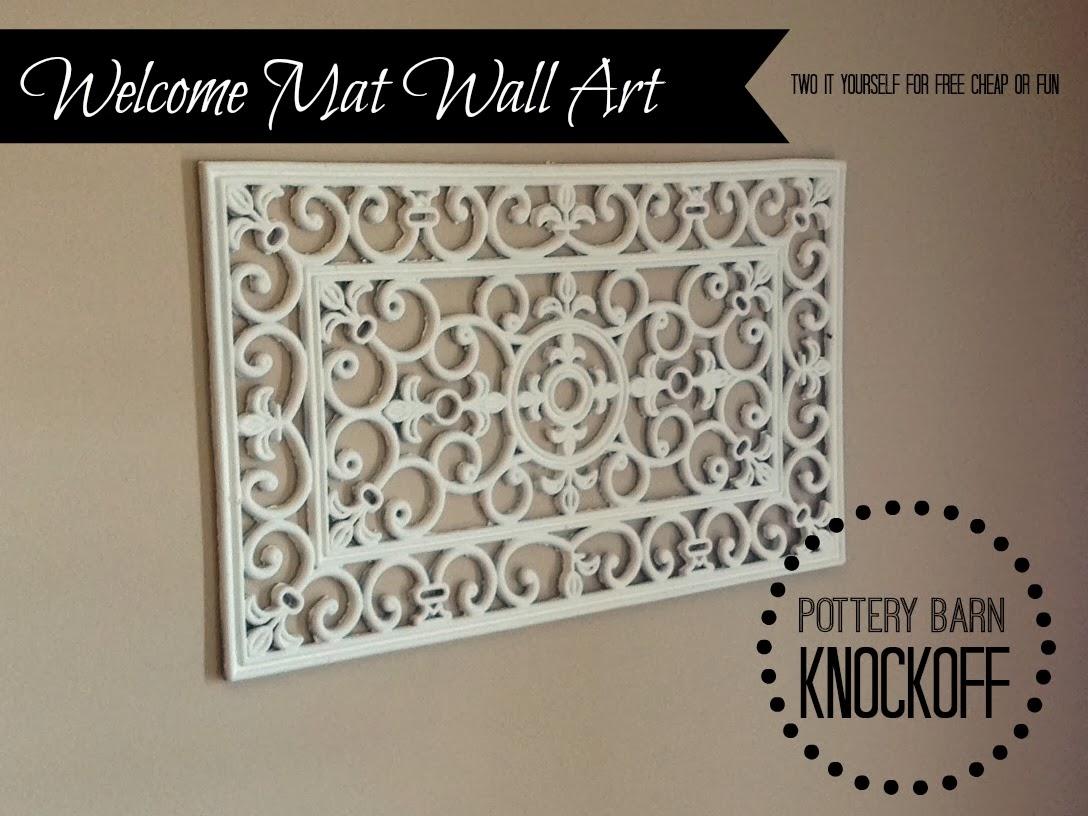 DIY Pottery Barn Wall Art Knockoff! - Fun Cheap or Free