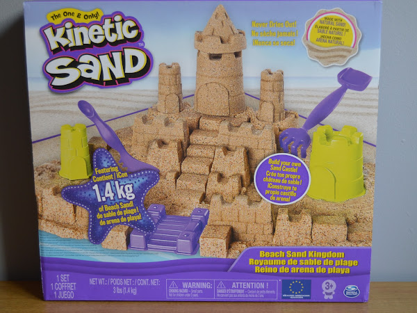Review | Kinetic Sand Beach Sand Kingdom