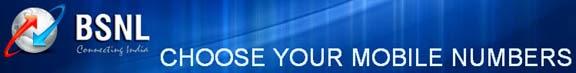 BSNL Choose Your Mobile Number Booking Procedure at BSNL CYMN Portal