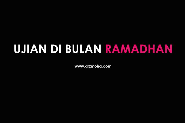 ujian di bulan ramadhan, ujian di bulan puasa, cik puteri demam denggi di bulan puasa, ujian terlepas sahur, ujian berbuka puasa di hospital,