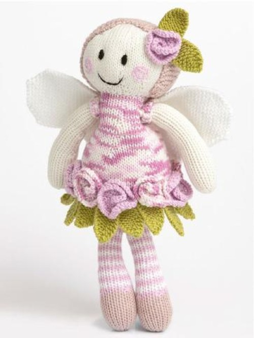 Rose Fairy Doll - Free Pattern