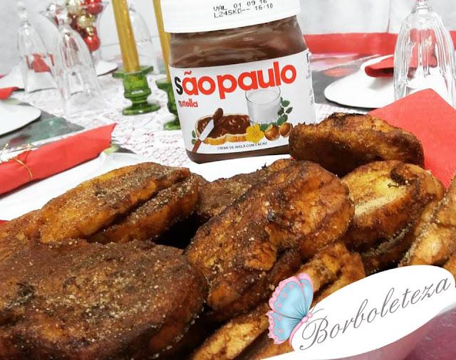 Como fazer Rabanada com Nutella