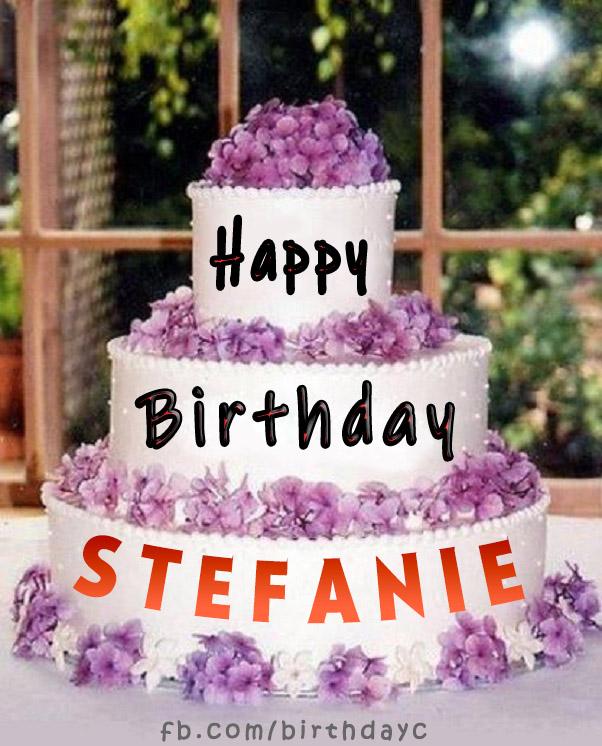 Stefanie Happy Birthday images