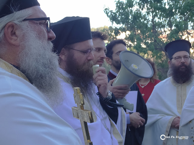 Σε κλίμα κατάνυξης η λιτάνευση της εικόνας του Αγίου Χριστοφόρου στη Μαλακοπή