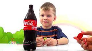 خطورة المشروبات الغازية علي صحة الاطفال