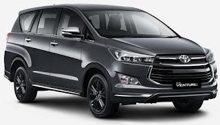 Harga Toyota Venturer Dark Gray Mica Metallic di Pontianak
