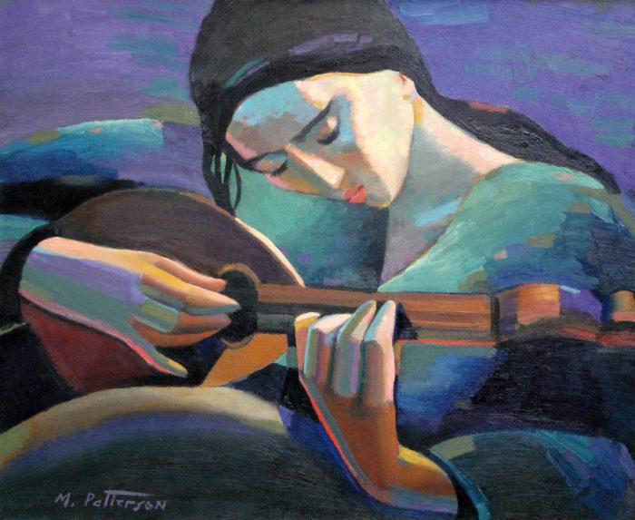 Американский художник. Michael Patterson