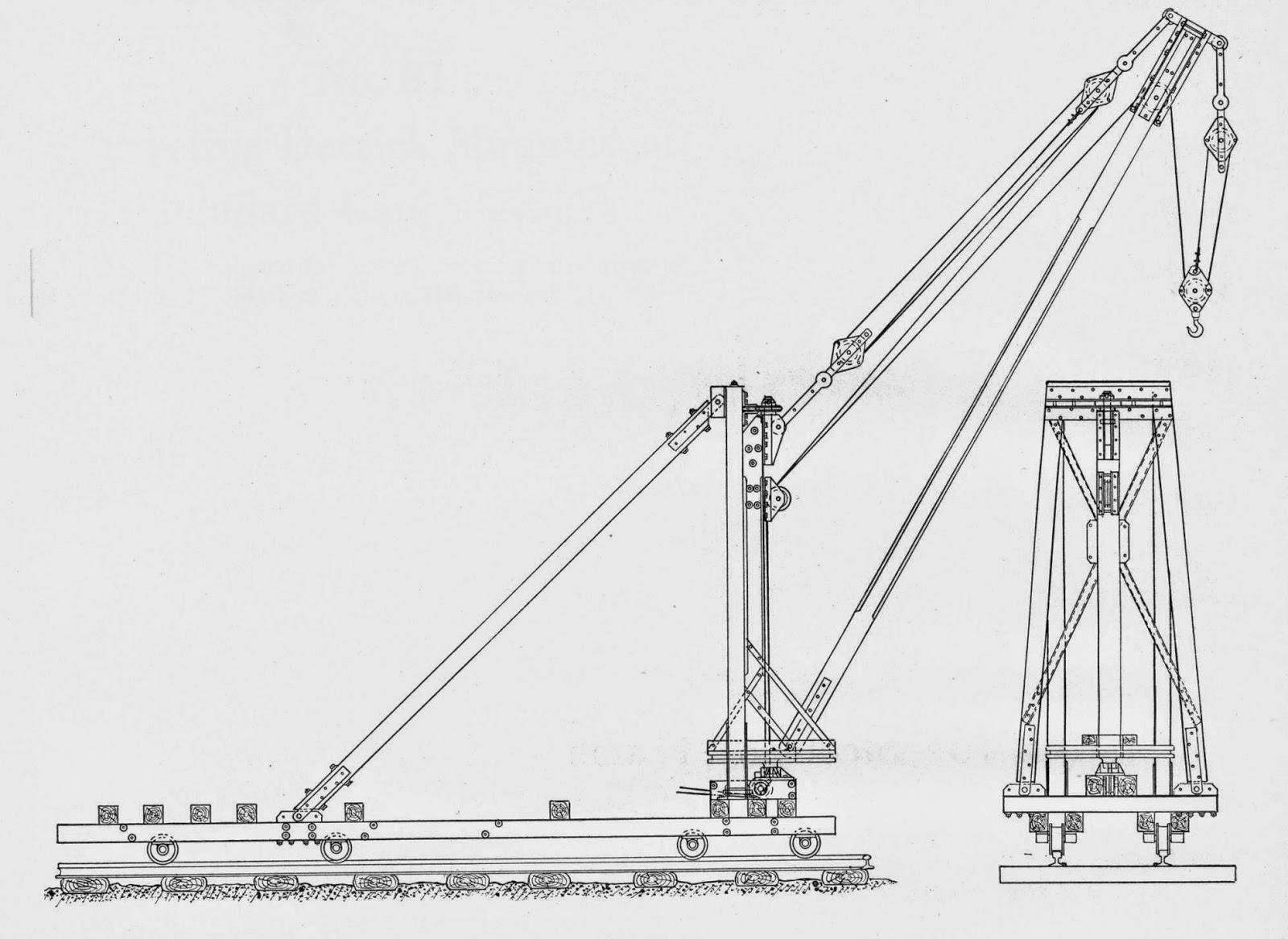 Model Railroad Minutiae Hoists And Derricks