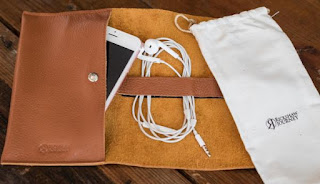 Leather Roll Up | Leather Roll | Leather Bags | Tan Leather Roll Up