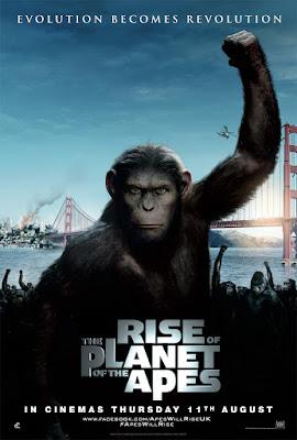 geneza planety małp film