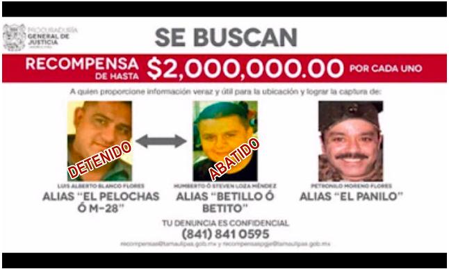 """Cayó Luis Alberto Blanco Flores, alias """"El Pelochas"""" en Monterrey, líder del CDG Screen%2BShot%2B2018-08-30%2Bat%2B09.28.17"""