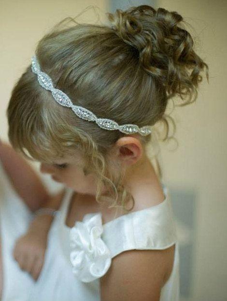 Como hacer un peinado de primera comunion