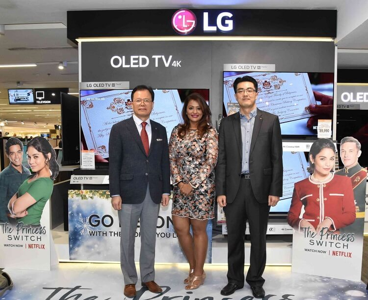 LG Celebrates 30th Anniversary with the LG B8 OLED TV, Netflix Partnership