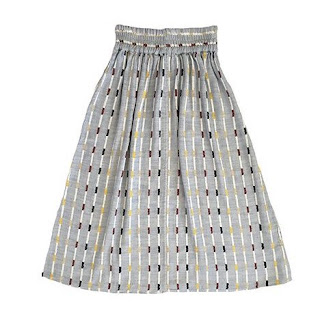 Ace & Jig Ra Ra Midi Skirt in Ivy