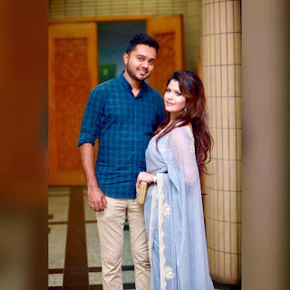 Tasnova Elvin & Her Husband Fahad Reazi Pics