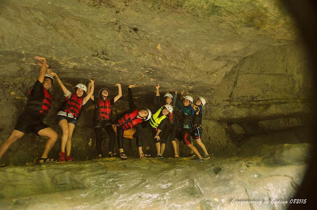 Canyoneering Experience in Badian Cebu