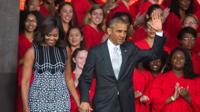 Obama opens African-American museum in Washington DC