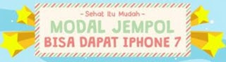 Lomba 2017 hadiah iPhone 7