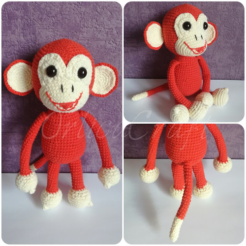 Happy Monkey - Free Pattern