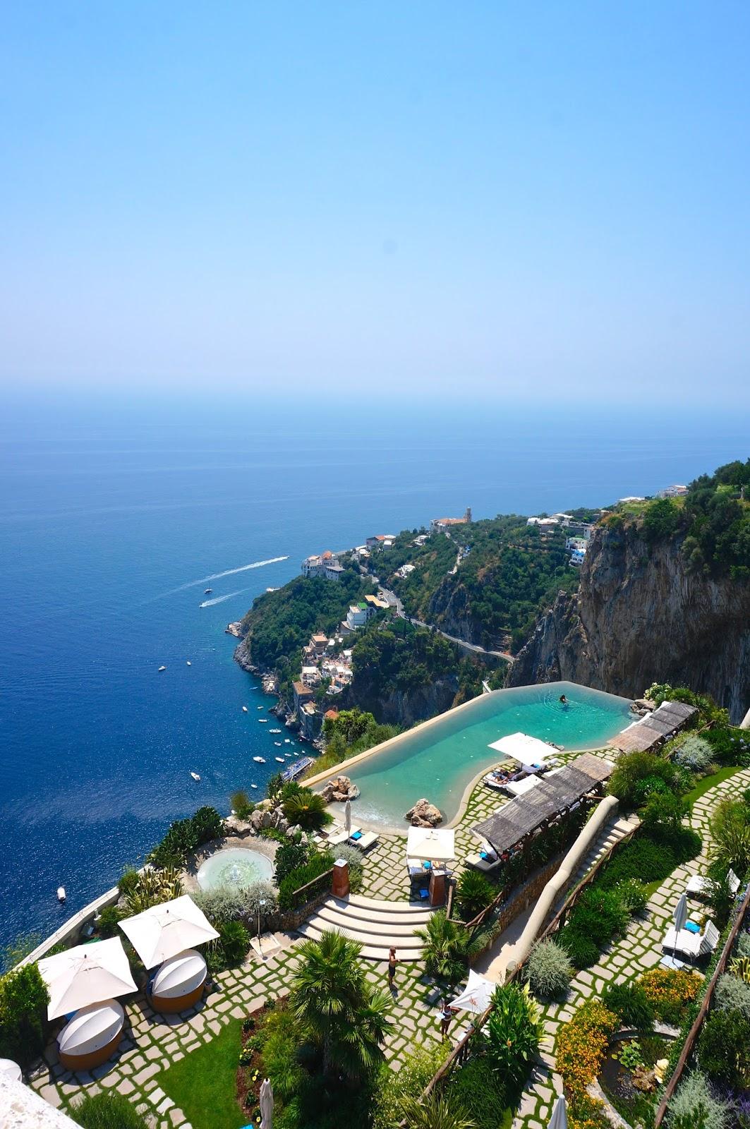 Our Honeymoon: Monastero Santa Rosa, Amalfi Coast