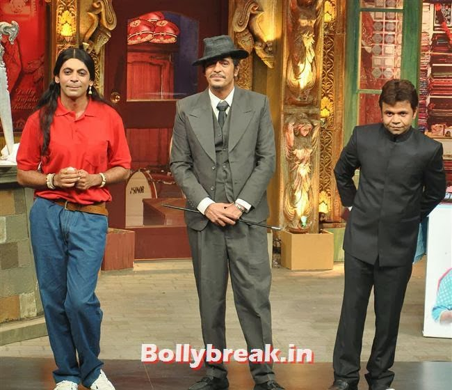 Sunil Grover, Chunky Pandey and Rajpal Yadav, Mahi Gill Promotes Gang of Ghosts on 'Mad in India'