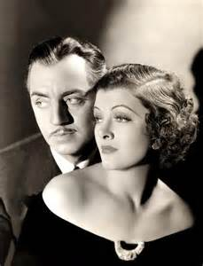 William Powell and Myrna Loy: