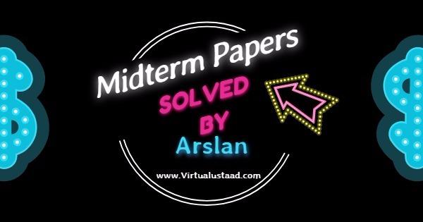 Midterm papers Arslan