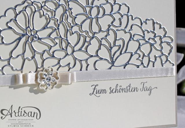 Stampin Up Hochzeitskarte Zum schönsten Tag