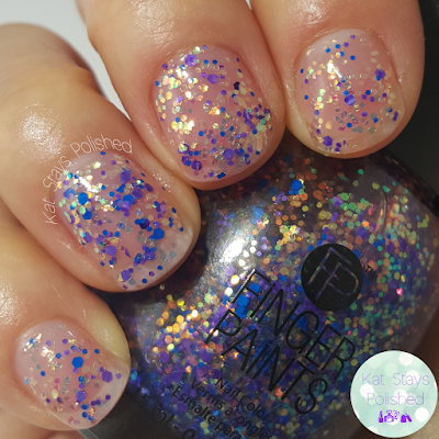 FingerPaints New Feb 2016 Shades - Off to Collage | Kat Stays Polished