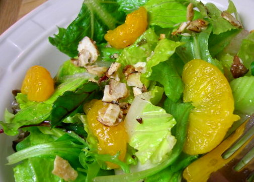 JUST SIMPLE SOMETHINGS: Mandarin Orange Salad