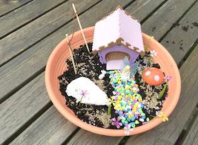 building the my fairy garden toy