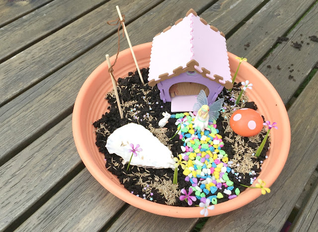 building the my fairy garden toy