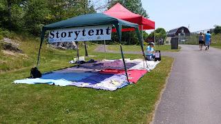 storytent at rockwood park
