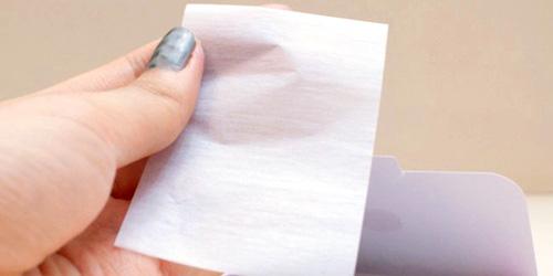 papel matificante para piel grasa