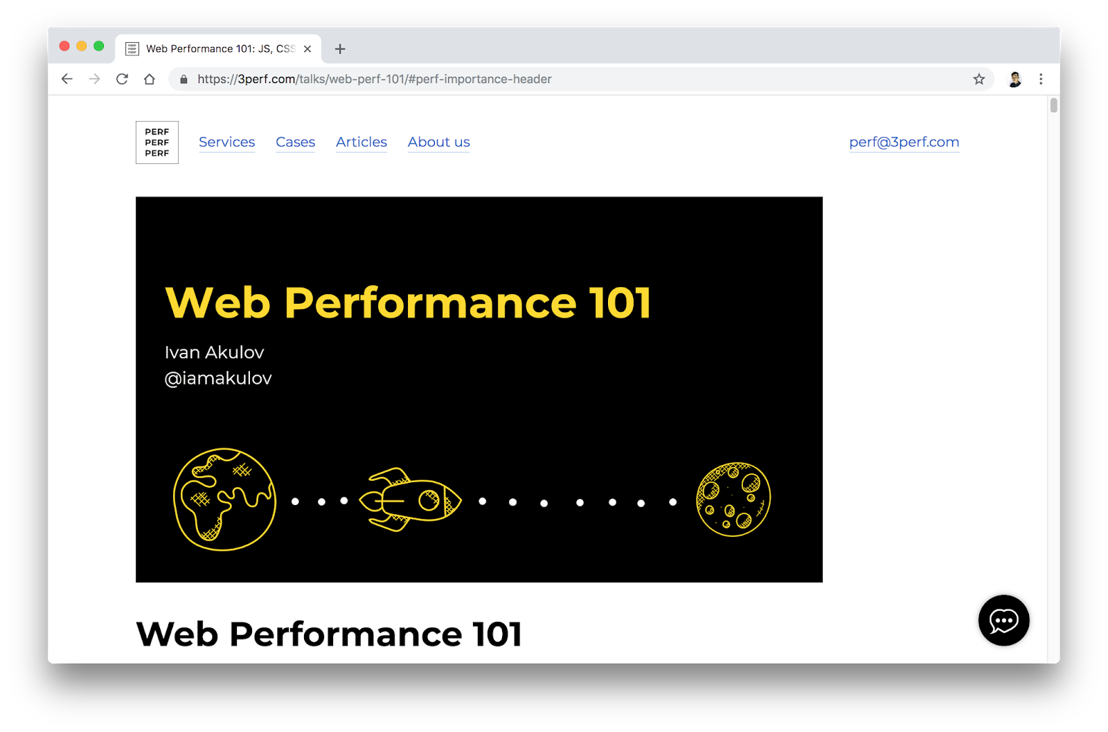 Web Performance 101