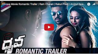Dhruva Movie Romantic Trailer  Ram Charan  Rakul Preet